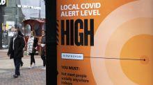 Coronavirus: UK R rate drops slightly to between 1.2 and 1.4