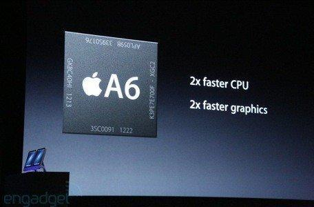 Apple introduces A6 processor for the iPhone 5