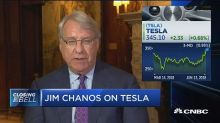 Chanos on Musk: He's making cars at not enough gross marg...