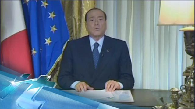 Italy's Berlusconi Says He Won't Step Down: 'I'm Resisting!'
