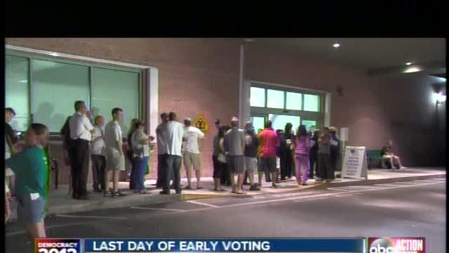 Record turnout for early voting