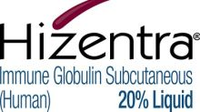 HIZENTRA® (Immune Globulin Subcutaneous [Human] 20% Liquid) Receives Orphan-Drug Exclusivity for the Treatment of Chronic Inflammatory Demyelinating Polyneuropathy (CIDP)