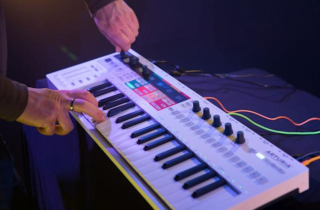 Arturia's KeyStep Pro MIDI controller is out now for $399