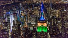 Empire State Building Celebrates The 2018 World Cup With Team Colors From Around The World