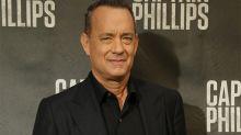 Tom Hanks ODIA promocionar sus películas