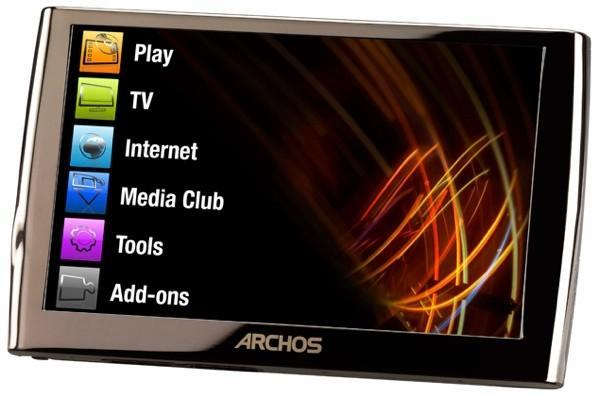 Archos 5 Internet Media Tablet is now up for grabs