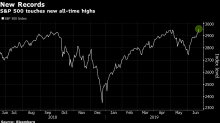 Only Game in Town, U.S. Stocks Surge to Records in Yield Chase