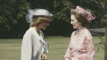 ¿Tiró por las escaleras Lady Di a su madrastra malvada?