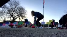 Wisconsin Students Create Memorial for Gun Violence Victims