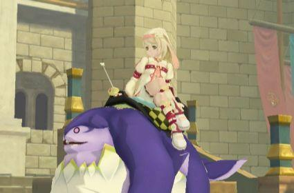 Tales of Symphonia: Dawn of the new screens