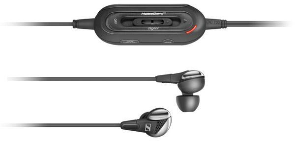 Sennheiser's sophisticated CXC 700 earbuds tout three levels of noise cancellation, TalkThrough functionality
