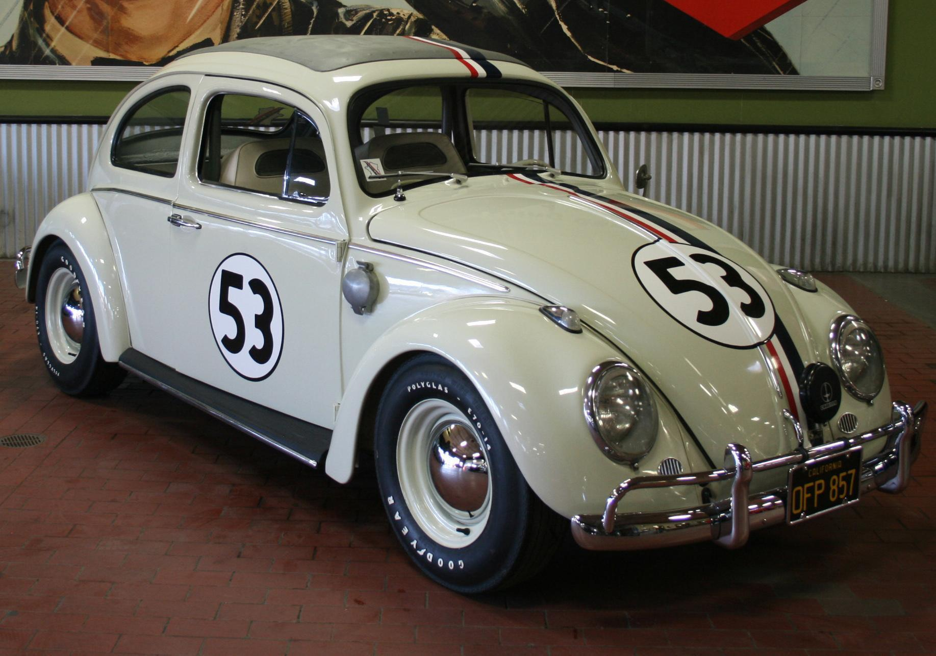 """Original """"Oil Squirting"""" Herbie Races To Auction"""