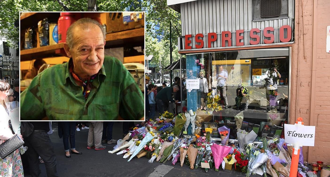 Pellegrini's reopens after beloved owner was killed in Bourke Street attack