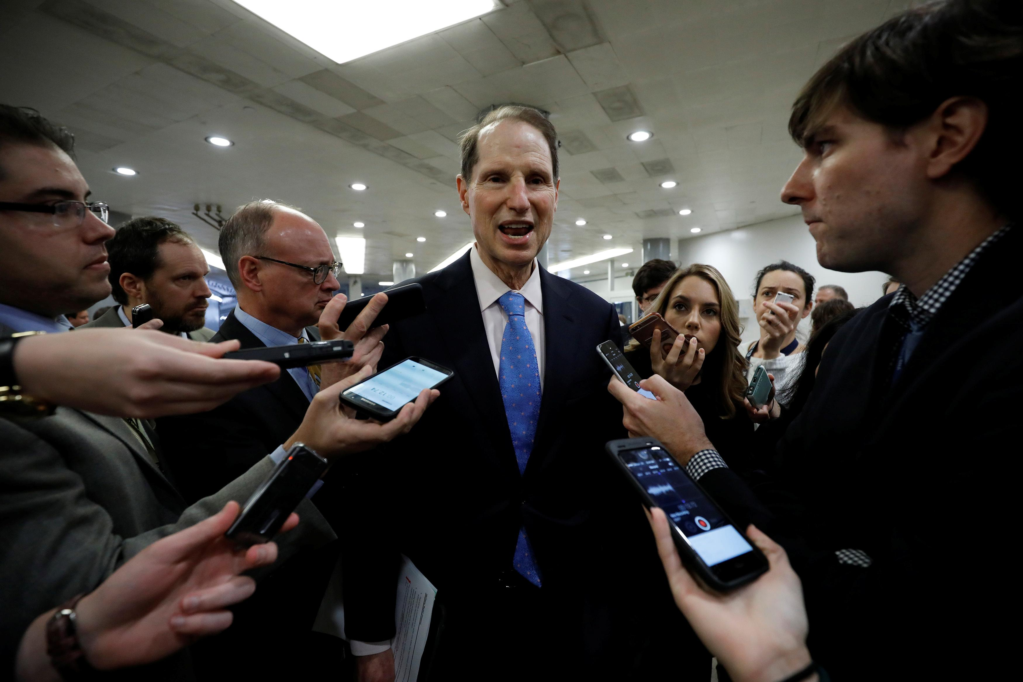 Sen. Wyden: People like Mark Zuckerberg should be punished for their lies