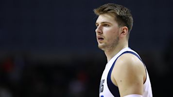 Doncic suffers scary-looking ankle sprain