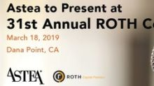 Astea to Present at 31st Annual ROTH Conference on March 18