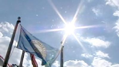 Unauthorized Christian Flag Raised In King