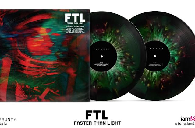 'FTL: Faster Than Light' soundtrack on vinyl looks out of this world