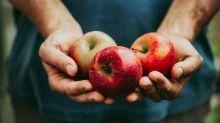 Was haben die kleinen Punkte auf Äpfeln zu bedeuten?