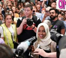 'Welcome home Ilhan': Huge crowd meets congresswoman Omar at Minnesota airport after Trump 'send her back' row