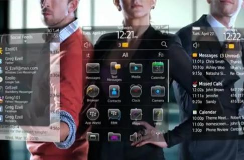 RIM shows off BlackBerry 6 on video