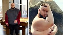 Meet the 29-stone male model breaking down barriers in fashion for larger men