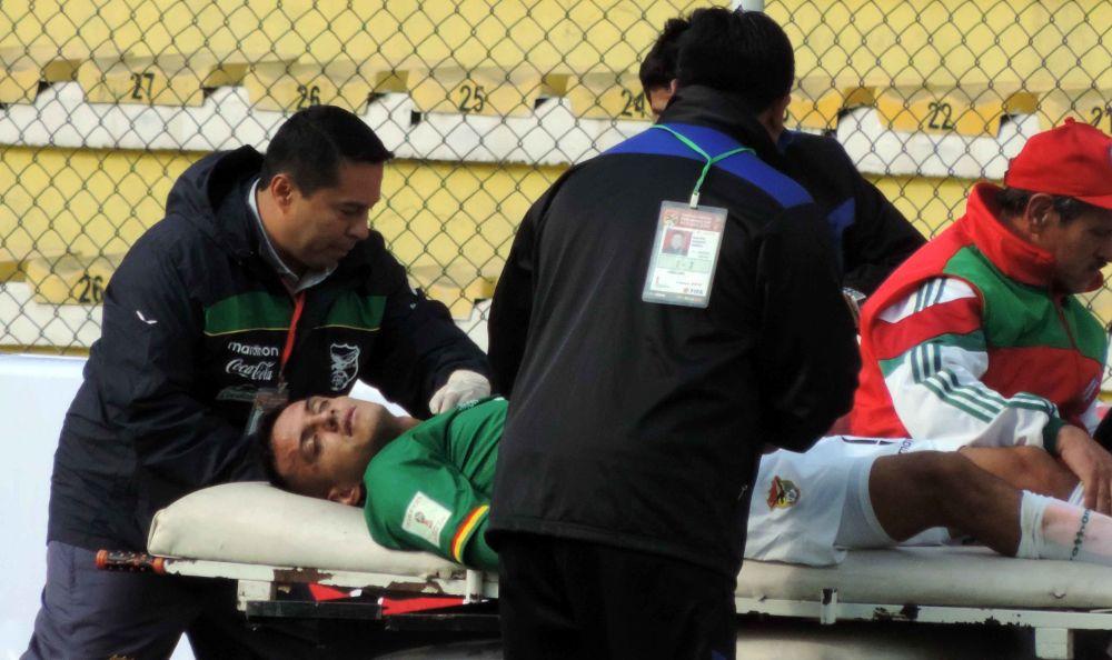 Campos queda descartado para el juego contra Chile