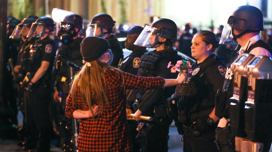 Cop in fatal shooting mocked protester online