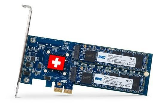 OWC's Mercury Accelsior PCIe SSD is Mac bootable, strictly neutral