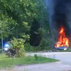 S.C. woman hoarding gasoline catches on fire after crash