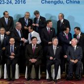 G-20 countries pledge to protect against Brexit shock