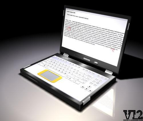 V12 Designs' dual-screen laptop coming in two years?