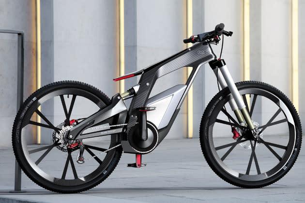 audi e bike a bicycle that runs at 80 kmph. Black Bedroom Furniture Sets. Home Design Ideas