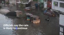 Heavy monsoon rains flood Pakistan's largest city Karachi