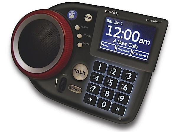 Clarity reveals Fortissimo speakerphone for folks with mobility issues