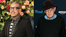 Jeff Goldblum criticized for saying he'd 'consider working with' Woody Allen again