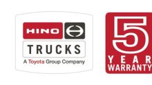 Hino Trucks Announces Ground Breaking Transmission Warranty