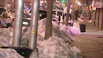Cars Buried By Snow, And Red Tape