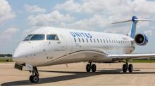United Airlines growing fleet of popular regional jet CRJ 550