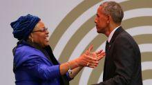 Obama emocionó con su discurso en el homenaje a Mandela por su centenario
