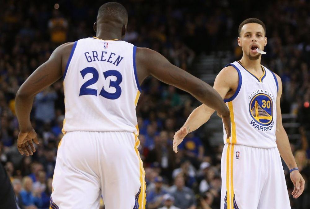 NBA: Golden State renverse San Antonio (même Curry n'en revient pas)