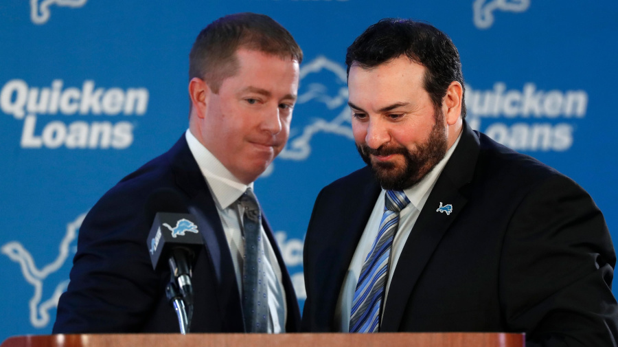 Lions finally hold Patricia, Quinn accountable