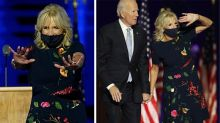 Fans spot hidden meaning behind Jill Biden's election dress