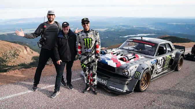 Climbkhana: Ken Block explains Pikes Peak assault in latest Gymkhana video
