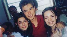 Paulinho Vilhena publica foto antiga com Sandy e Junior: 'Poupança numa boa'