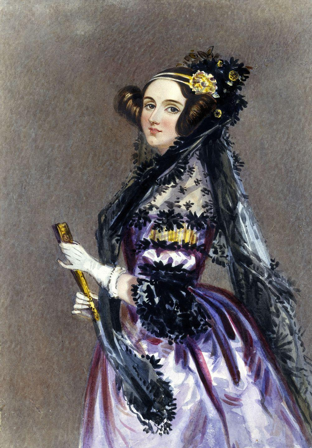 <p>Ada Lovelace, often referred to as the first computer programmer, translated from French (and annotated in detail) the notes of Italian mathematician Luigi Menabrea's treatise on the work of famed mathematician and inventor Charles Babbage. </p><p>Her father, the poet Lord Byron, left at an early age, so her mother, a mathematician, ensured that Lovelace was well-educated and schooled in mathematics. At 17, Lovelace met Babbage at a party, and was captivated by his mathematical musings and curious contraptions. She drafted the first computer program, which his analogue calculation machine, the Analytical Engine, could use to calculate Bernoulli numbers.</p>