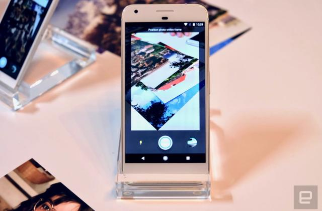 Google's new PhotoScan app makes it easy to digitize old prints