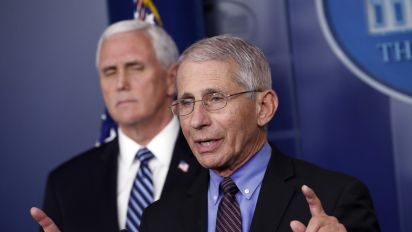 Fauci lowers U.S. coronavirus death forecast