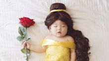 The Adorable Napping Baby Whose Dress-Up Adventures Went Viral Has Her Own Book Now