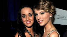 Katy Perry shares photo of hand-embroidered gift Taylor Swift sent for newborn daughter
